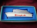 TROPICALE SANKIE BUTANE LIGHTER CIRCA 1960'S