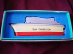 SS SAN FRANCISCO SANKEI  BUTANE LIGHTER CIRCA 1960's