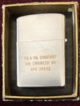 4TH ENGINEER BN HQ & HQ COMPANY APO 96262 PLEIKU VIETNAM 1967 - 1968  REVERSE SIDE