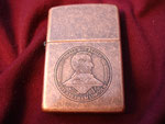 USS ABRAHAM LINCOLN CVN-72 (SOLID COPPER) DATED 2004