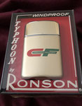 CONSOLIDATED FREIGHTWAYS #5 RONSON TYPHOON LIGHTER CIRCA 1960's