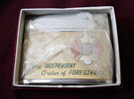 THE INDEPENDENT ORDER OF FORRESTERS IOF SEABURY LIGHTER CIRCA 1960's