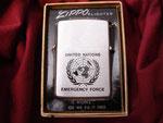 U.N.E.F. UNITED NATIONS EMERGENCY FORCE REVERSE