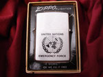 U.N.E.F. UNITED NATIONS EMERGENCY FORCE REVERSE