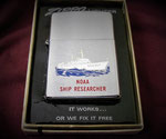 NOAA SHIP RESEARCHER #1 VIETNAM ERA DATED 1974
