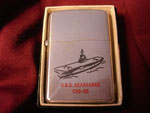 USS KEARSARGE CVS-33 (STRAIGHT FLIGHT DECK) (PRINCE ROCKY LIGHTER) KOREAN WAR ERA CIRCA 1950's