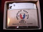 KWAJALIEN TEST SITE MARSHALL ISLANDS US AMC NIKE-X (AUTOMATIC-BROTHER-LITE LIGHTER) VIETNAM ERA CIRCA 1960's