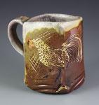 Spangled Hamburg Mug by Catherine Stasevich