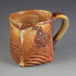 Black Breasted Red Araucana Mug by Catherine Stasevich