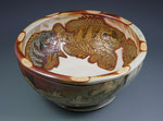 Panfish Serving Bowl, Interior by Catherine Stasevich