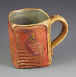 Golden Araucana Mug by Catherine Stasevich