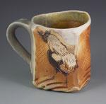 Silver Araucana Mug by Catherine Stasevich