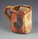 Black Araucana Mug by Catherine Stasevich