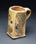 Peacock Mug by Catherine Stasevich