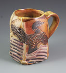 Loon with Wild Rice Mug by Catherine Stasevich