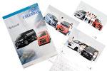 三菱自動車ROAR カレンダー