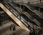 Escaliers des Halles, sous la Canopée