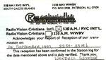 Radio Vision Christiana - 1997