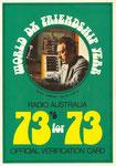 Radio Australia - 1973