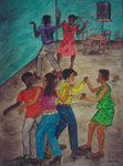 Dance II, 2003, Watercolour on Paper ( 70 x 50 cm )