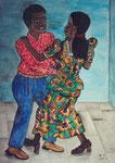 Dance I, 2003, Watercolour on Paper ( 70 x 50 cm )