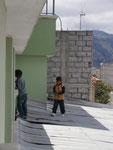 wenn Kinder aufs dach abhauen