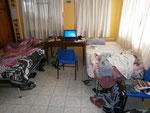 unser Zimmer (li. Manuel , re. Felix)