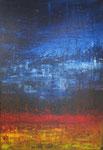 """""""High than High"""" (Acryl/Leinwand, Holzrahmen, 100x70cm)"""