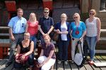 Das Fachseminar Niederländisch im Juli 2014. Foto: Bataviawerf