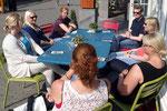 """Lagebesprechung in der """"Bataviastad"""". Foto: Ulrichs"""