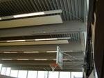 die Decke der großen Halle