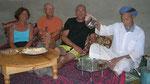 Amtoudi : thé chez l'aîné du village
