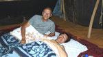 Dodo sous la tente berbère