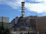 Sarcophage autour du réacteur
