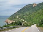 Strasse nach Cape Breton