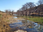 Am friedlichen Pedernales River