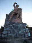 Statue auf dem Mirador