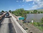 Hochwasser am Missouri