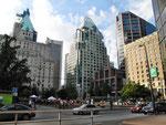 In den Schluchten von Vancouver