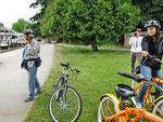 Impressionen von unserer Radtour im Stanley Park