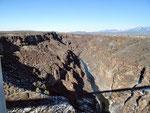 Der einst so stolze Rio Grande - ein Rinnsal
