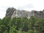 Mt. Rushmore - von ferne