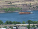 Holztransport - Down the Columbia River