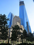 "der neue ""Freedom Tower"" auf ""Ground Zero"""