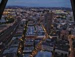 Vancouver von oben - by night