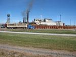 Zuckerrohr-Fabrik