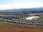 Wohnsiedlung vor Calgary