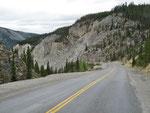 Rocky limestone gorge