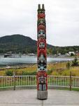Totem Pole beim Memorial Park