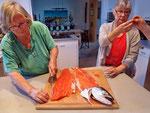 ...parieren...degustieren - Sushi ;-)